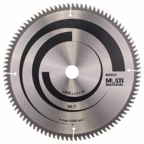 Bosch Lama per seghe circolari Multi Material 305 x 30 x 3,2 mm, 96