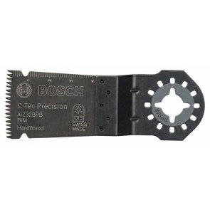 Bosch Lama per tagli dal pieno BIM Precision, AIZ 32 BPB, Hardwood 40 x 32 mm