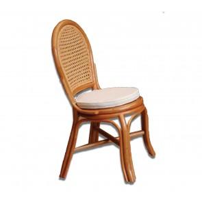 Sedia con cuscino da esterno ARVING 46x53x97h