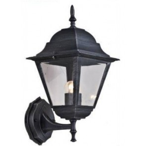 Lanterna NEW YORK UP con braccio altezza 41 cm Grigio Ghisa Anticato