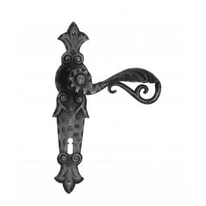 Maniglia in ferro Porta battuto Galbusera Art.505 Nero Antico