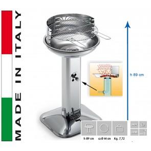 Barbecue Carbone Ompagrill Venus 480 Pro System H 89 diametro 44