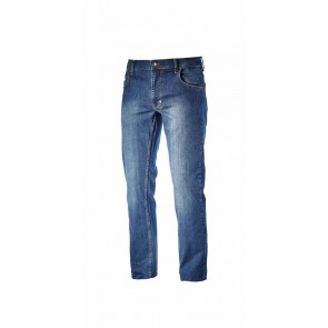 Diadora Utility Pantalone STONE  ISO 13688:2013 BLU JEANS LAVATO da XS a 3XL
