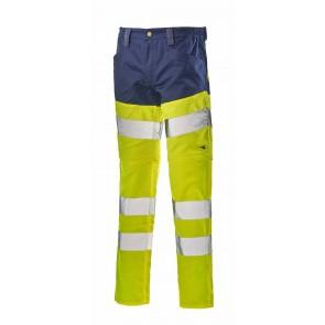 Diadora Utility Pantalone PANT HV 3 /1 ISO 20471:2013 2ND CAT. HV GIALLO/BLU CLASSICO da S a 3XL