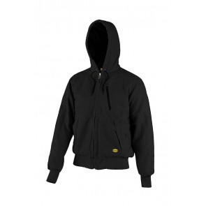 Diadora Utility Giacca JACKET PADDED CANVAS 13688:2013 NERO PIRATA da S a 3XL