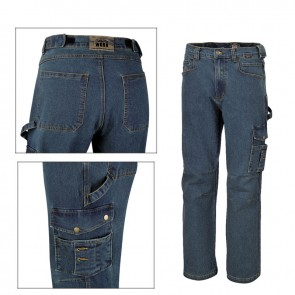 jeans da lavoro elasticizzati Beta WORK 7525 antinfortunistica multitasche