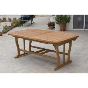 Tavolo Giardino Imperiale in legno 260x100x75h