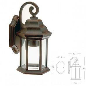 Applique in Basso IP33 Art. 776/11 Ruggine
