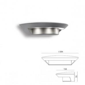 Applique piccola con led Art. 99698/72 Alluminio