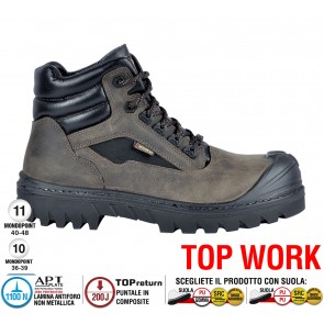 Scarpa lavoro Antinfortunistica Cofra BARINAS UK S3 HRO SRC TOP WORK