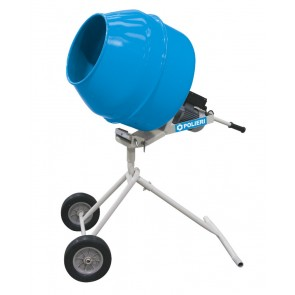 Betoniera Polieri Minihobby 140 lt facile montaggio e trasporto