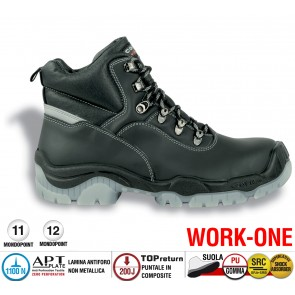 Scarpa Antinfortunistica Cofra BONN S3 SRC WORK -ONE