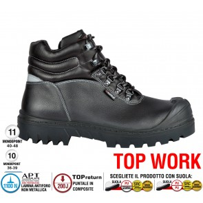 Scarpa lavoro Antinfortunistica Cofra BUILDING BIS UK S3 HRO SRC TOP WORK