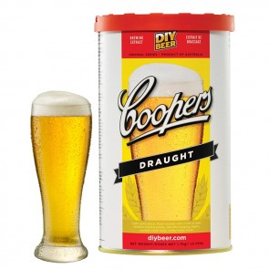 Malto per Birra Artigianale Coopers Draught 1,7kg 23 litri