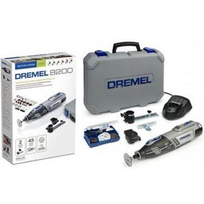 Kit DREMEL 8200 Utensile Multifunzione batteria EZ Twist valigetta 8200-2/45