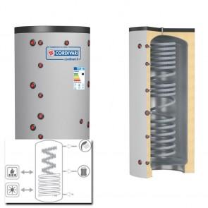 Cordivari Termoaccumulatore ECO COMBI 2 VB 500 a 2000 RIGIDA 1 Scambiatore Fisso