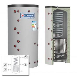 Cordivari Termoaccumulatore ECO COMBI 2 VC 800 a 2000 MORBIDA 1 Scambiatore Fisso