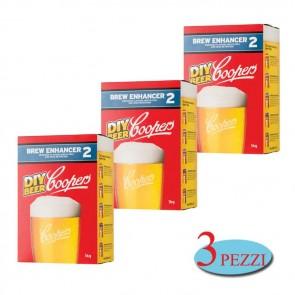 Intensificatore Coopers Brew Enhancer 2 birra artigianale 3 PEZZI DA 1kg schiuma corposità zucchero