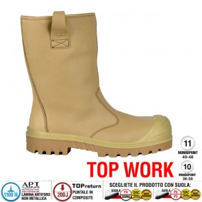 Scarpe antinfortunistiche Cofra FAR OE UK S3 CI HRO SRC taglie dal 40 al 47  Linea TOP WORK