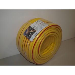 TUBO PER IRRIGAZIONE ANTITORSIONE GIALLO MAGLIATO 3/4 (19MM) x 50MT ALTA QUALITA'