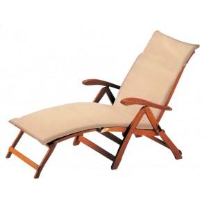 Cuscino per poltrona esterno colore Ecru cm 183