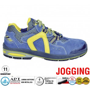 Scarpe antinfortunistiche Cofra FINAL EIGHT S1 P SRC taglie dal 39 al 47  Linea JOGGING