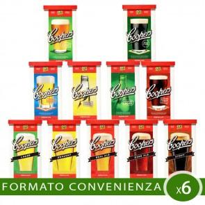 Malto Birra Artigianale 6 PEZZI Coopers Internazionale-Classica A SCELTA