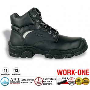 Scarpa Antinfortunistica Cofra IPSWICH S3 SRC WORK -ONE
