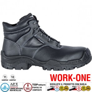 Scarpa Antinfortunistica Cofra LIVORNO S3 SRC WORK-ONE