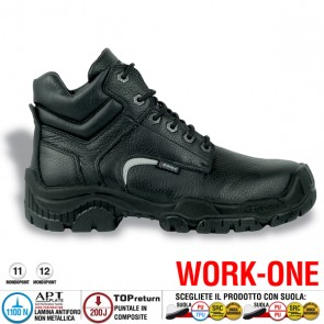 Scarpa Antinfortunistica Cofra LUTON S3 CI SRC WORK -ONE