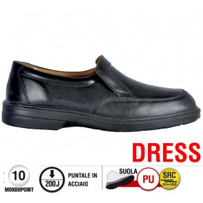 Scarpa Cofra MEUCCI S2 SRC  DRESS calzature Executives foderate pelle
