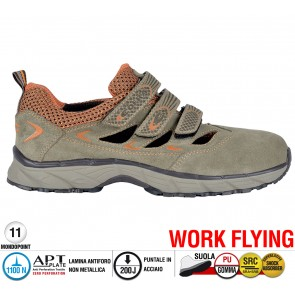 Scarpe antinfortunistiche Cofra NEW BIG AIR S1 P SRC taglie dal 37 al 47  Linea WORK FLYING