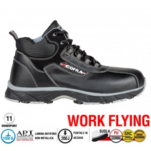 Scarpa Sportive Antinfortunistica Cofra NEW TERMINATOR S3 SRC WORK FLYING