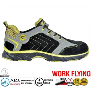 Scarpe antinfortunistiche Cofra NEW TWISTER BLACK S1 P SRC taglie dal 36 al 47  Linea WORK FLYING