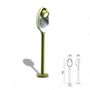 Palo basso con led Art. 99742/04 Nero h.580