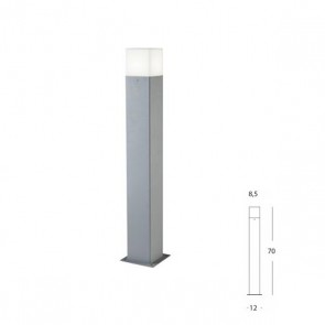 Palo Kube Art. 485/72 Alluminio h.70