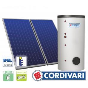 Pannello Solare Cordivari B2 500L 4x2,5mq tetti a Falda Piani e Incasso