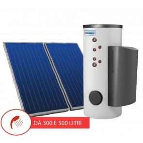 Pannello Solare Cordivari ALL IN 300 e 500 L doppia serpentina acqua calda sanitaria