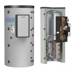 Termoaccumulatore Cordivari PUFFERMAS 1 800 a 1500 litri modulo MAC per produzione acqua sanitaria 1 scambiatore