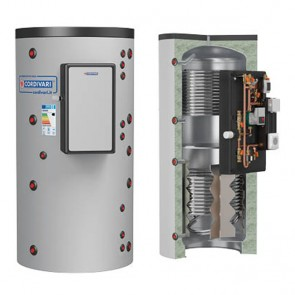 Termoaccumulatore Cordivari PUFFERMAS 2 800 a 1500 litri modulo MAC per produzione acqua sanitaria 2 scambiatore