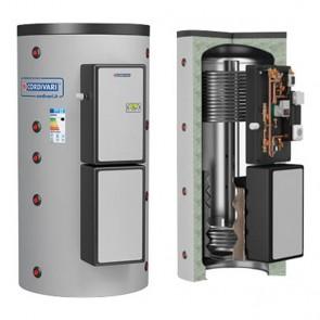 Termoaccumulatore Cordivari PUFFERMAS 2 POWER B HE CTS 70 KW 500 litri stazione solare produzione acqua sanitaria 1 scambiatore