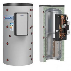 Termoaccumulatore Cordivari PUFFERMAS 800 a 1500 litri modulo MAC per produzione acqua sanitaria
