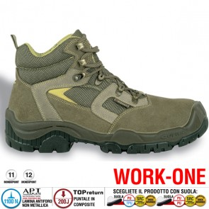 Scarpa Antinfortunistica Cofra SCILLA S1 P SRC WORK-ONE