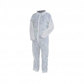 Tuta Lavoro Antifortunistica Cofra Sheer Bianco 50Pz