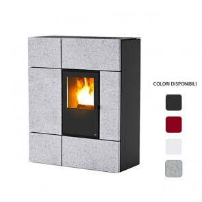 Stufa a Pellet ad Aria MCZ STREAM Comfort Air 12,4 kW Canalizzabile