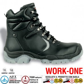 Scarpa Antinfortunistica Cofra TAMPERE S3 CI SRC WORK-ONE