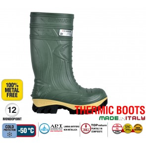 Stivale Termico Gomma Cofra THERMIC D.GREEN S5 HRO CI SRC THERMIC BOOTS