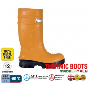 Stivale Termico Gomma Cofra THERMIC ORANGE S5 HRO CI SRC THERMIC BOOTS