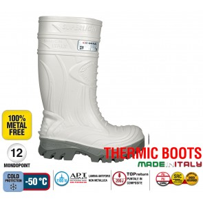 Stivale Termico Gomma Cofra THERMIC WHITE S5 HRO CI SRC THERMIC BOOTS