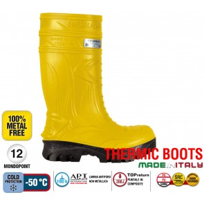 Stivale Termico Gomma Cofra THERMIC YELLOW S5 HRO CI SRCTHERMIC BOOTS